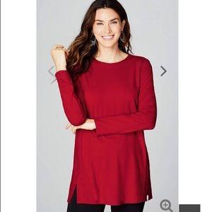 J. Jill Red Sweater